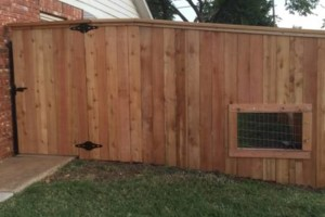 Photo #7: FenceOKC. Stockade fence, privacy fence...