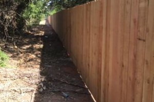 Photo #4: FenceOKC. Stockade fence, privacy fence...