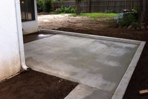 Photo #2: CONCRETE WORK at a fair price. Driveways, sidewalks, porches, patios, steps, curbs