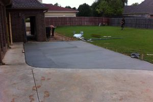Photo #5: CONCRETE WORK at a fair price. Driveways, sidewalks, porches, patios, steps, curbs