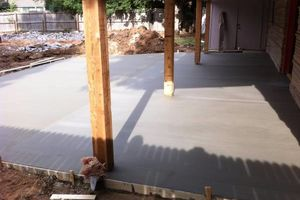 Photo #6: CONCRETE WORK at a fair price. Driveways, sidewalks, porches, patios, steps, curbs