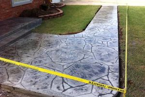 Photo #8: CONCRETE WORK at a fair price. Driveways, sidewalks, porches, patios, steps, curbs