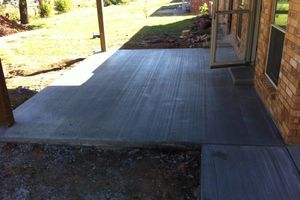 Photo #9: CONCRETE WORK at a fair price. Driveways, sidewalks, porches, patios, steps, curbs