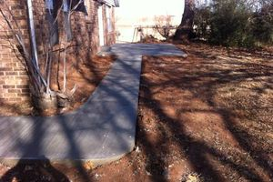 Photo #11: CONCRETE WORK at a fair price. Driveways, sidewalks, porches, patios, steps, curbs