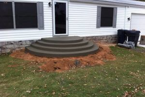 Photo #12: CONCRETE WORK at a fair price. Driveways, sidewalks, porches, patios, steps, curbs