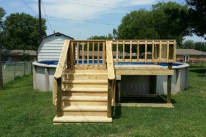 Photo #4: DECKS FOR YOUR HOME / POOL 4X4 - $375.00