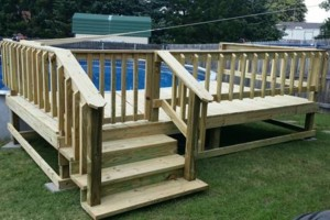 Photo #3: DECKS FOR YOUR HOME / POOL 4X4 - $375.00