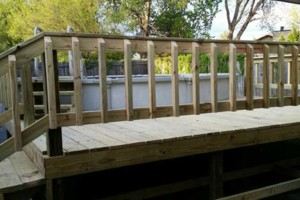 Photo #2: DECKS FOR YOUR HOME / POOL 4X4 - $375.00