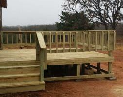Photo #1: DECKS FOR YOUR HOME / POOL 4X4 - $375.00