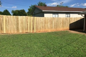 Photo #2: Fence Doctor + clean gutters
