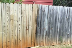 Photo #3: Fence Doctor + clean gutters