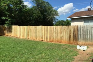 Photo #4: Fence Doctor + clean gutters