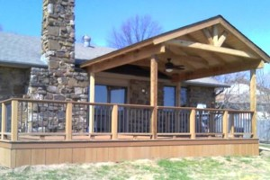 Photo #7: Building the strongest decks. Patio Covers, Shade Arbors...