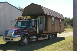 Photo #10: Shed movers, portable buildings, Mover