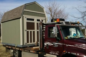 Photo #7: Shed movers, portable buildings, Mover