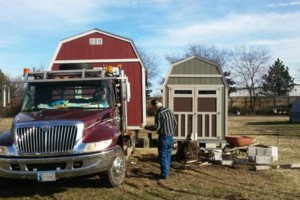Photo #6: Shed movers, portable buildings, Mover