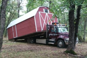 Photo #5: Shed movers, portable buildings, Mover