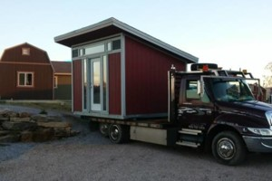 Photo #1: Shed movers, portable buildings, Mover