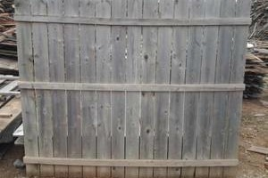 Photo #1: Wood Recycling. FREE WOOD FENCE PANELS HAUL OFF... NO CHARGE!