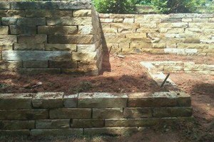 Photo #6: Reyes Landscape and Hardscape. Masonry