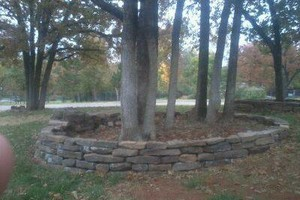 Photo #3: Reyes Landscape and Hardscape. Masonry