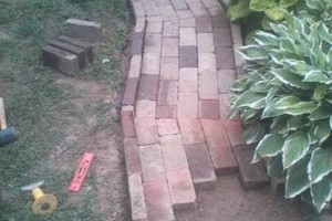 Photo #4: RETAINING WALLS, PAVER STONE PROJECTS, LANDSCAPING!