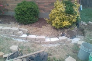 Photo #11: RETAINING WALLS, PAVER STONE PROJECTS, LANDSCAPING!