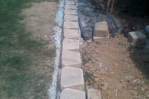 Photo #12: RETAINING WALLS, PAVER STONE PROJECTS, LANDSCAPING!