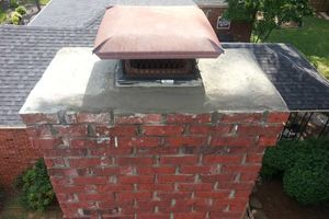 Photo #2: Chimney Repair cap replacement