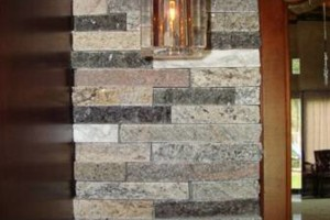 Photo #19: Installation of Recycled Granite of Kentucky Split Stone Veneers