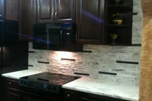 Photo #6: Installation of Recycled Granite of Kentucky Split Stone Veneers