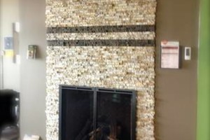 Photo #1: Installation of Recycled Granite of Kentucky Split Stone Veneers