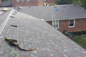 Photo #1: Roof , Gutter and Siding Repairs