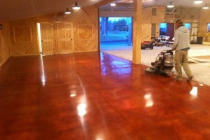 Photo #1: Polished Concrete and concrete resurfacing