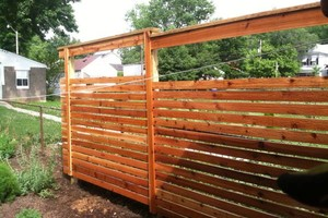 Photo #3: Wood picket and privacy fencing