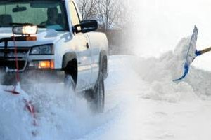 Photo #1: Wayne's Snow Removal - plow or hand