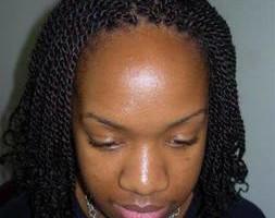 Photo #1: Munas Afro. Afriacn hair style