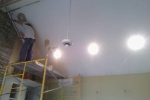 Photo #15: Need a painter? Painting and Drywall repairs, Drywall hanging / finish