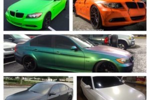 Photo #2: Looking to change the color of your car?