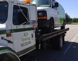 Photo #1: AJs professional flatbed towing service