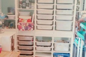 Photo #2: Affordable Housekeeper/Organizer (rooms, desks, garages, cabinets, papers, art supplies, clothes, anything!)