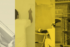 Photo #1: Construction Coatings Group - stucco, drywall, concrete coatings