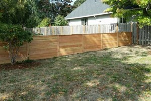 Photo #21: Alanmarc Construction. 6' Cedar Fence $17.00 A Foot