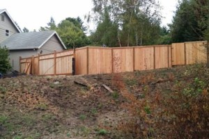 Photo #20: Alanmarc Construction. 6' Cedar Fence $17.00 A Foot