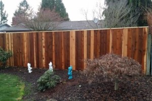 Photo #12: Alanmarc Construction. 6' Cedar Fence $17.00 A Foot