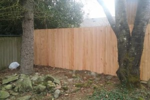 Photo #9: Alanmarc Construction. 6' Cedar Fence $17.00 A Foot