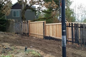Photo #4: Alanmarc Construction. 6' Cedar Fence $17.00 A Foot