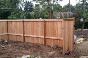 Photo #3: Alanmarc Construction. 6' Cedar Fence $17.00 A Foot