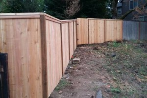 Photo #2: Alanmarc Construction. 6' Cedar Fence $17.00 A Foot