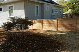 Photo #1: Alanmarc Construction. 6' Cedar Fence $17.00 A Foot